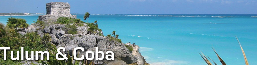 Land tour to Tulum and Coba, Riviera Maya, Quintana Roo, Yucatan with Planet Scuba Mexico